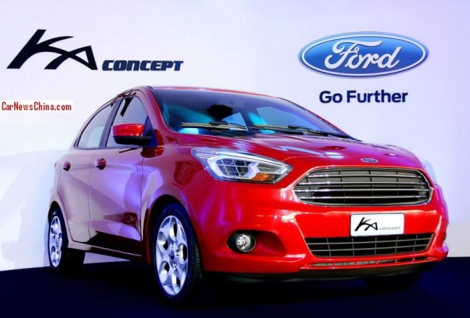 Ford Ka will hit the China car market in Q4
