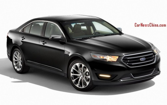 Ford Taurus will be manufactured in China from 2015