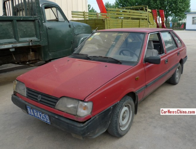 Spotted in China: FSO Polonez 1.6 GLE at the Museum