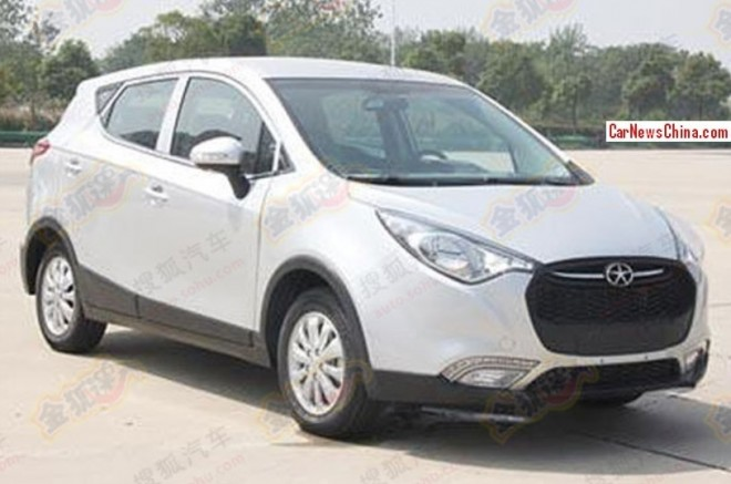 Spy Shots: JAC Heyue S30 SUV is Naked in China