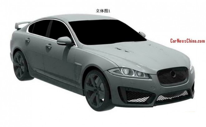 Patent Applied: Jaguar XFR-S to come to China