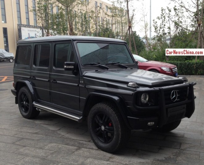 Spotted in China: Kleemann Mercedes-Benz G550