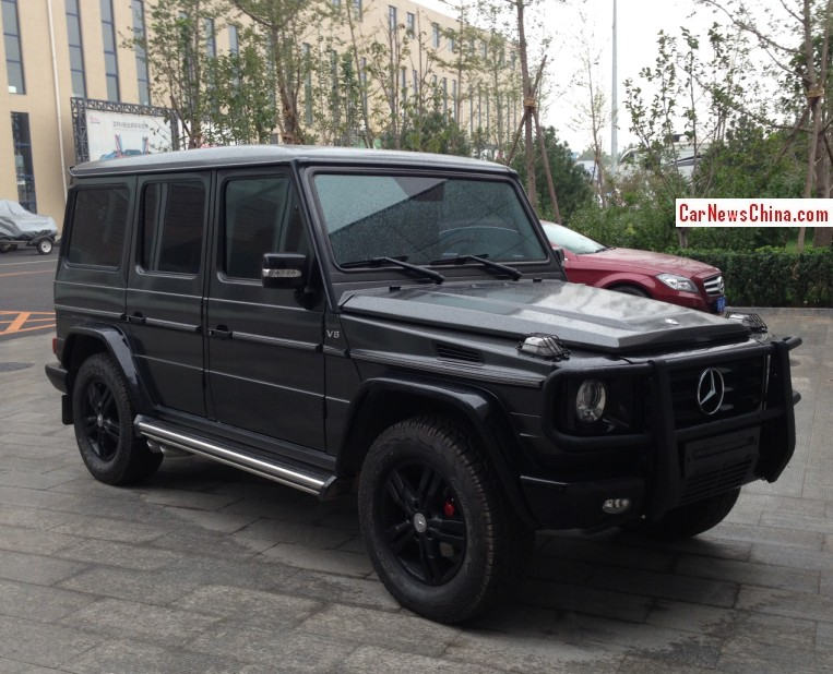 Spotted In China Kleemann Mercedes Benz G550 Carnewschina Com