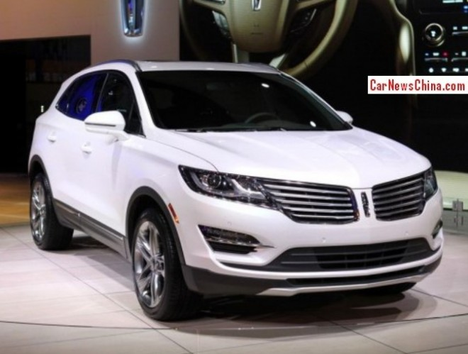 Lincoln MKC will hit the China car market in Q4