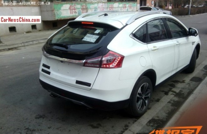 Spy Shots: Luxgen U6 Turbo is Almost Ready for the China car market
