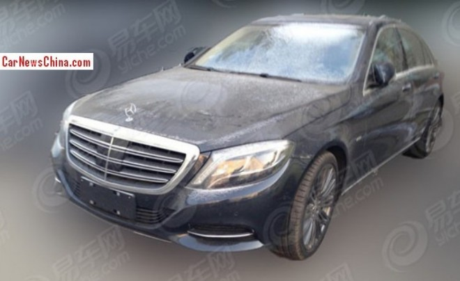 Spy Shots: Mercedes-Benz S600L testing in China