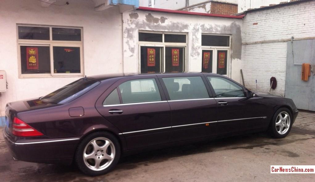 mercedes s 500 limousine 1999