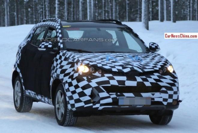Spy Shots: MG CS SUV seen testing in Europe