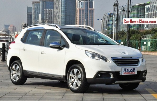 Peugeot 2008 will hit the China car market in April