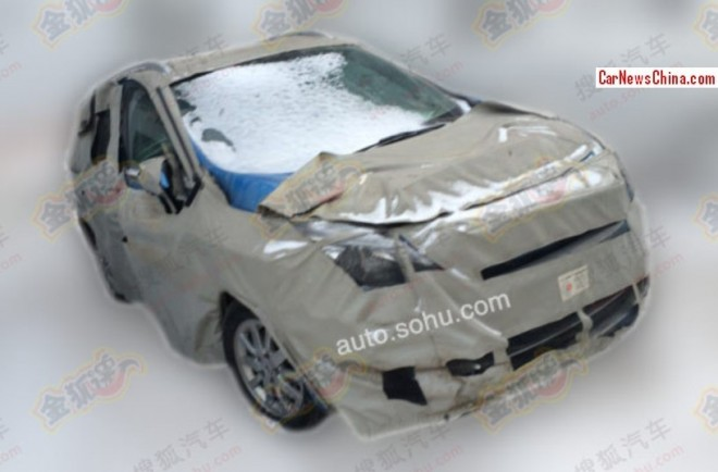 Spy Shots: 2015 Renault Scenic testing in China