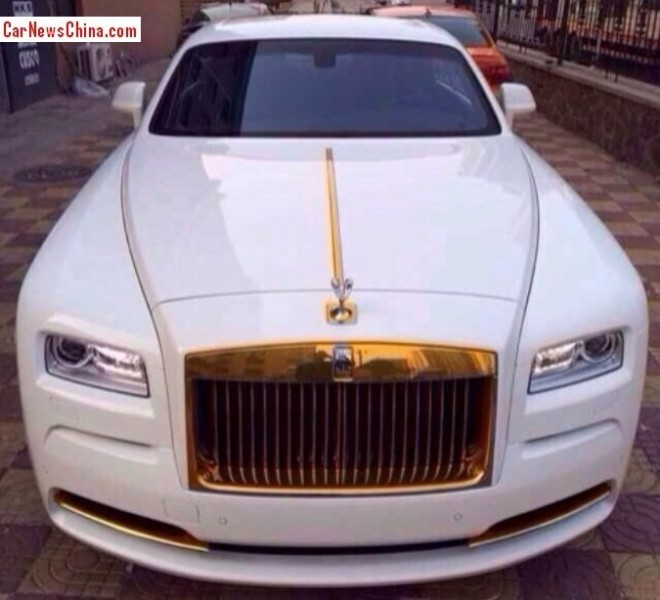 Rolls-Royce Wraith gets a bit more Bling in China