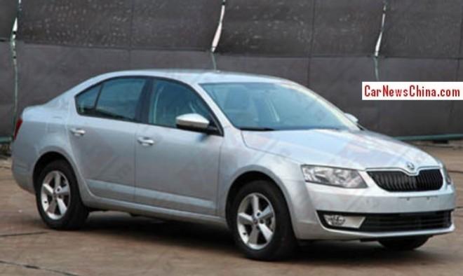 New Skoda Octavia is Ready for the China car market