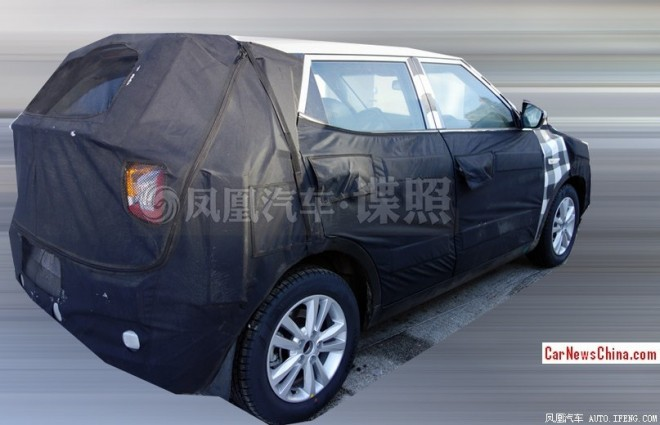Spy Shots: SsangYong compact SUV seen testing in China