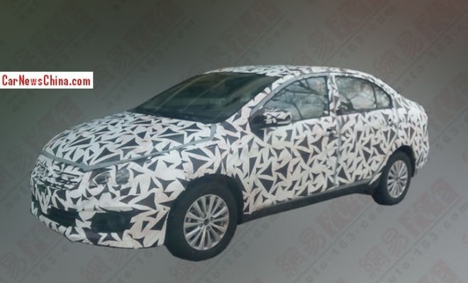 Spy Shots: Suzuki Authentics sedan testing in China