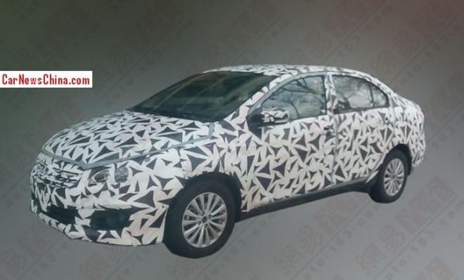 Spy Shots: Suzuki Authentics sedan testing in China