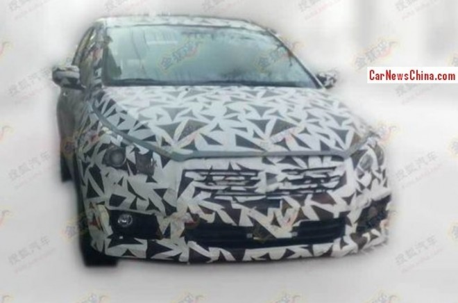 Spy Shots: Suzuki Authentics sedan Spied testing in China