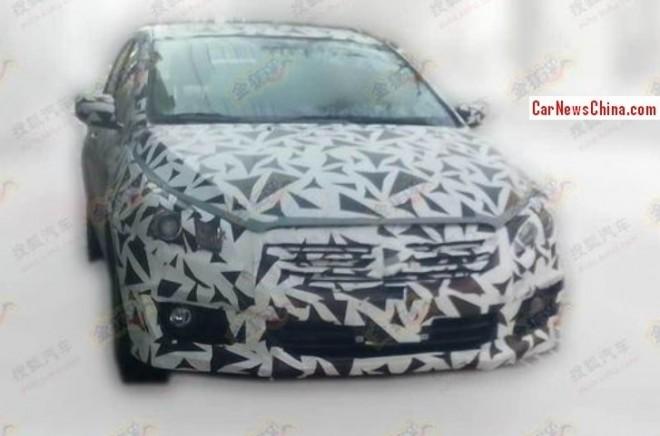 Spy Shots: Suzuki Authentics sedan Spied testing in China