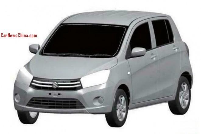 Patent Applied: (Maruti) Suzuki Celerio to come to China