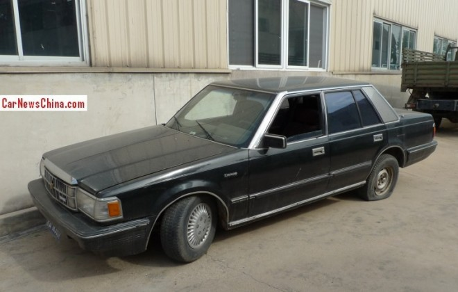 Spotted in China: S120 Toyota Crown Royal Saloon