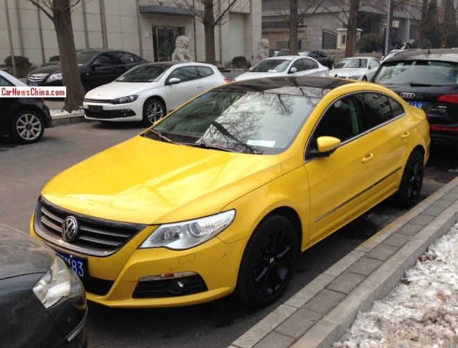 Volkswagen Passat CC is a Banana in China