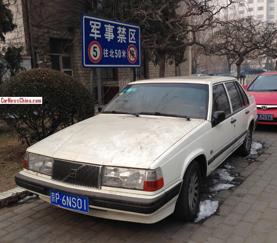 1998 Volvo S90 Exterior: Spotted In China: Volvo 940 S 2.3 Sedan