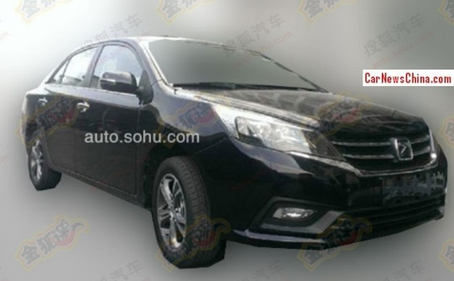 Spy Shots: facelift for the Zotye Z300 in China