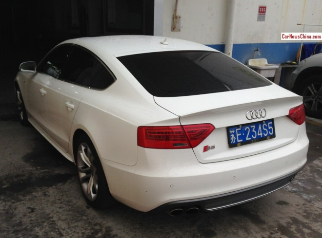 Audi S5 Sportback has a License in China