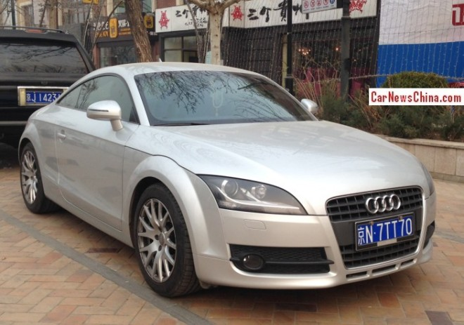 Audi TT has a License in China