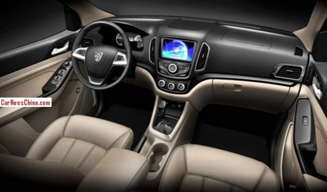 Spy Shots: Baojun 730 MPV, first pic of the interior