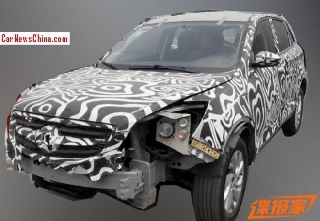 Spy Shots: Beijing Auto C51X seen testing in China again