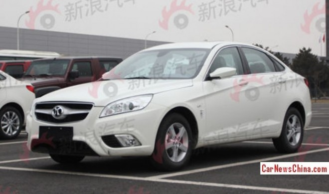 Spy Shots: Beijing Auto C50E is completely Naked in China