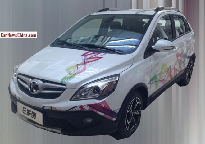 Spy Shots: Beijing Auto E-Series Cross will debut on the 2014 Beijing Auto Show