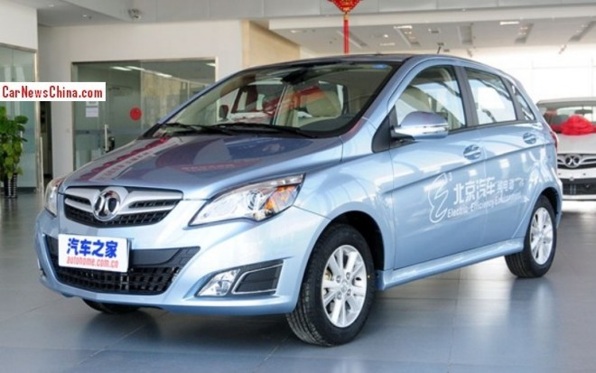 Beijing Auto E150 EV hits the China car market