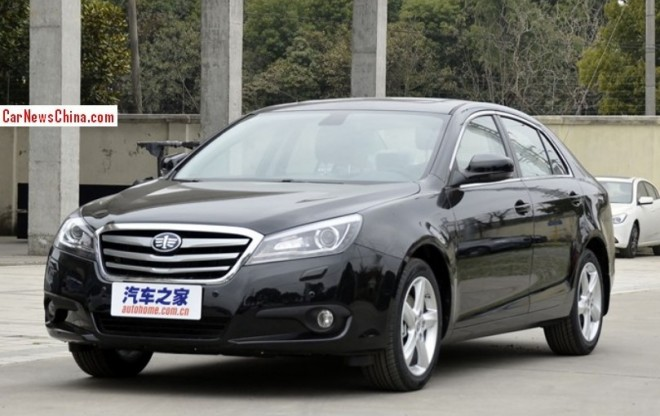 Facelifted Besturn B90 launched on the China car market