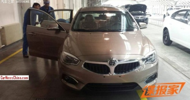 Spy Shots: facelifted Brilliance H530 will be launched on the 2014 Beijing Auto Show