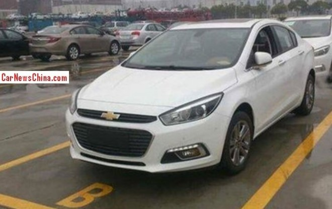 Spy Shots: 2015 Chevrolet Cruze is Naked in China