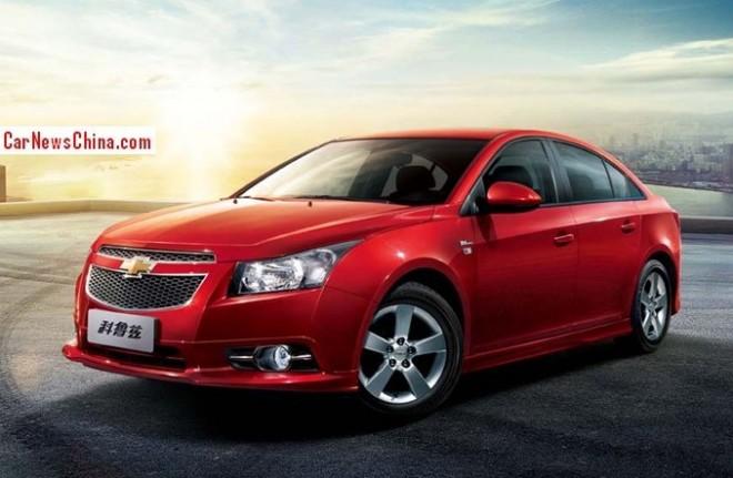 Chevrolet Cruze 1 Million Commemorative Edition hits the China car market