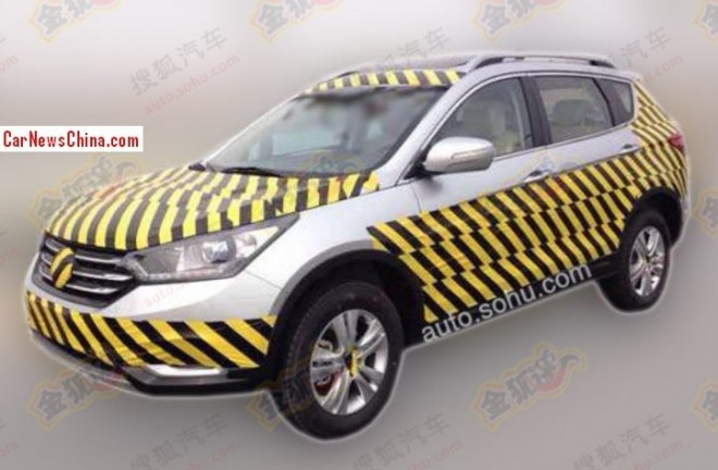 Spy Shots: Dongfeng Fengshen G29 SUV seen testing in China