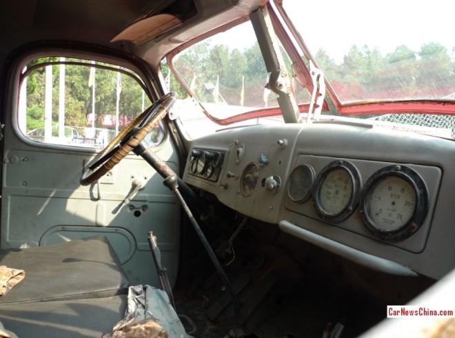 FAW-цзефан огня грузовик-1a