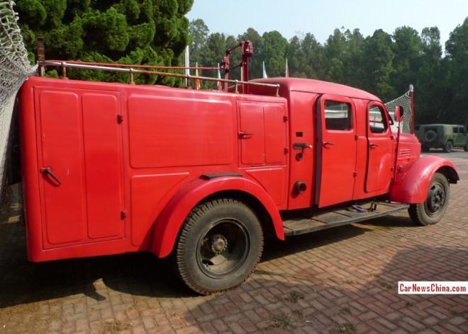 FAW-цзефан огня грузовик-3