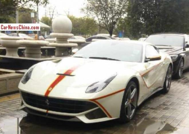 Ferrari F12berlinetta is a little bit 'different' in China