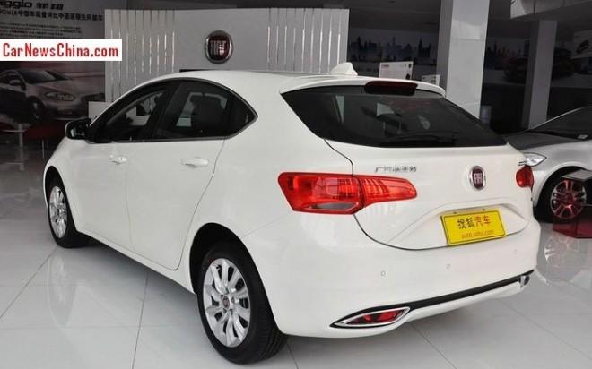 Fiat Ottimo hits the China car market