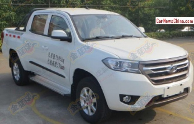 Spy Shots: three new pickup trucks for Foday in China