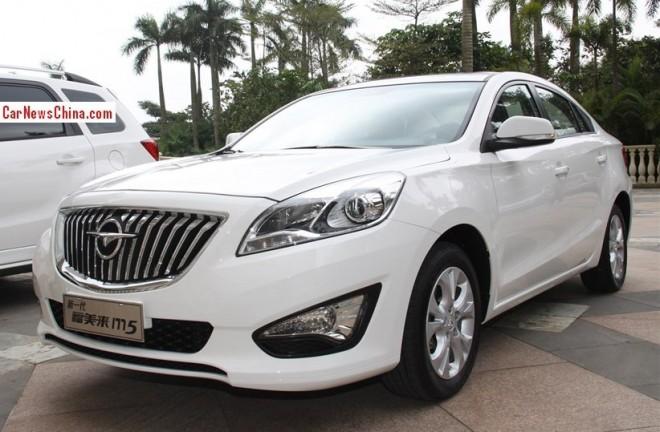 Haima M5 will hit the China car market in May