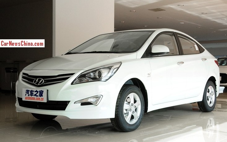 Facelifted Hyundai Verna Sedan Launched On The China Auto Market