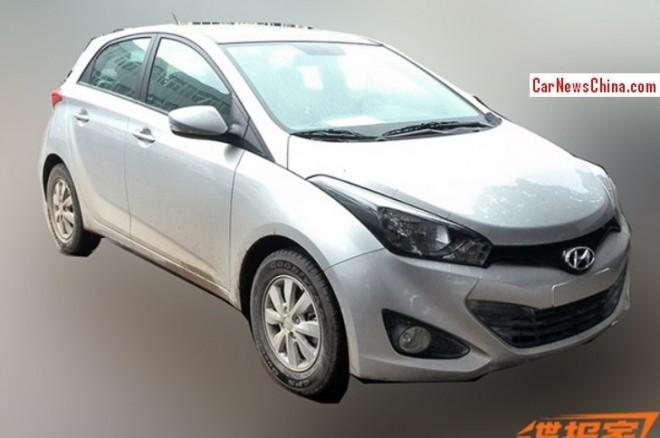 Spy Shots: Hyundai HB20 testing in China