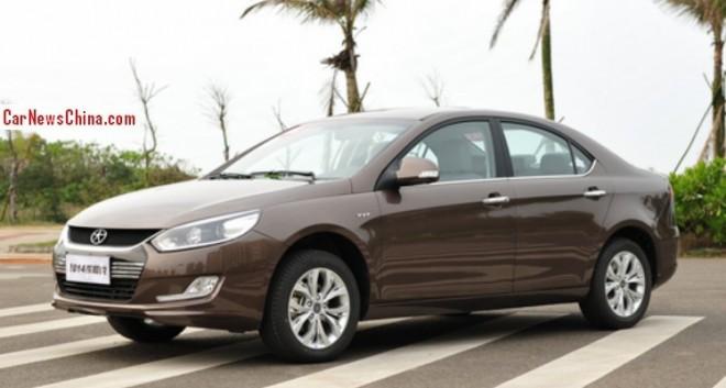 Facelifted JAC Heyue sedan hits the China car market