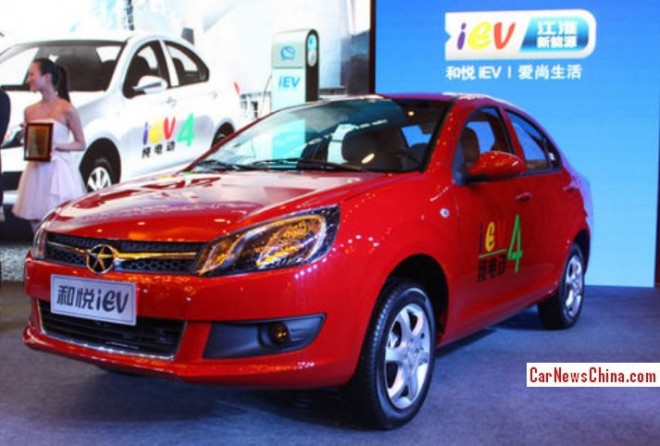 JAC Heyue iEV4 launched on the China car market