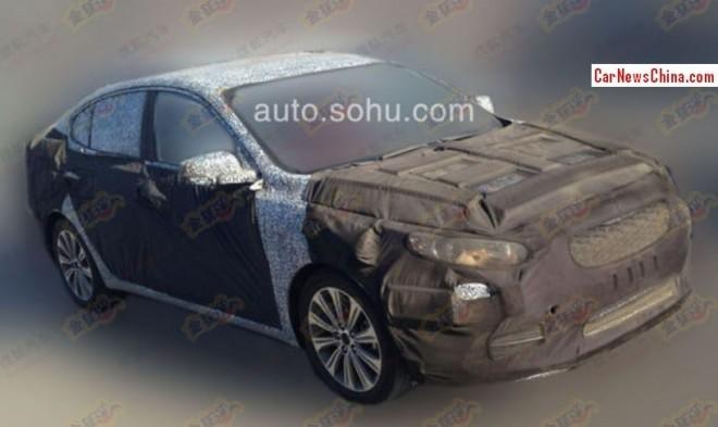 Kia K4 will debut on the 2014 Beijing Auto Show
