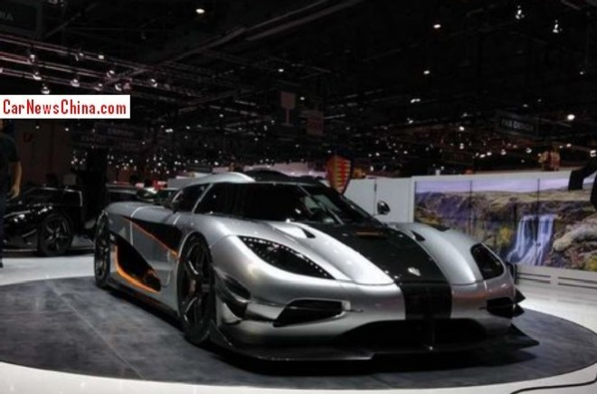 2014 Geneva Motor Show: first live shots of the Koenigsegg Agera One:1